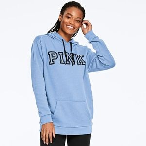 VS PINK EVERYDAY LOUNGE CAMPUS PULLOVER